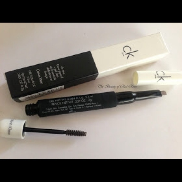Calvin Klein Makeup Ck One Brow Pencil And Gel Duo In Crafty Raven