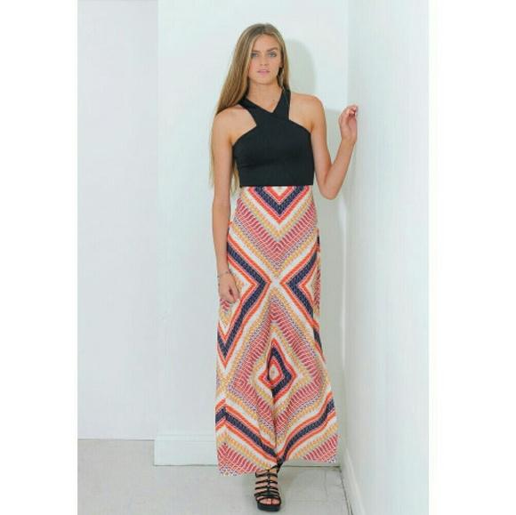 ee3dcc9aec4 Abbeline Taryn Maxi Dress Size Large NWT