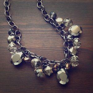 Elegant Beaded Statement Necklace