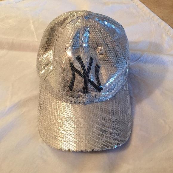 c9a961b8 VS Pink New Era sequins New York Yankees hat