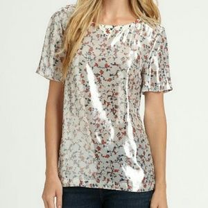 Marc by Marc Jacobs Tops - Marc By Marc Jacobs Silkmetallic Exeter Blouse