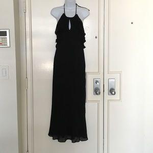NEW Ralph Laurent Black dress 100% silk size6