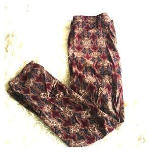 Club Monaco Pants - Club Monaco Printed Corduroy Pants