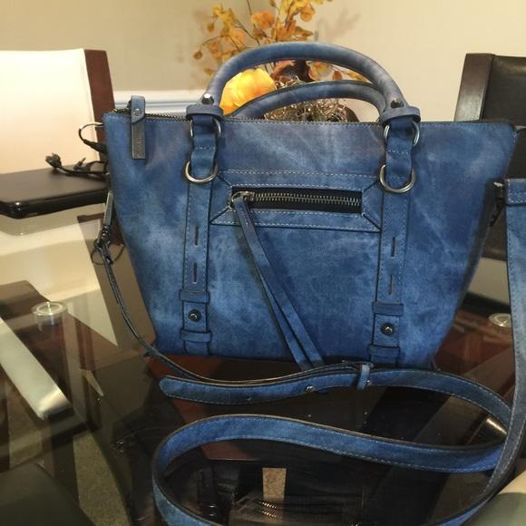 f92827f438 Steve Madden Bags | Nwt Jean Look Cross Over Bag | Poshmark