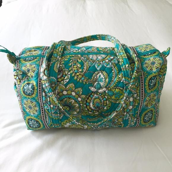 Small Duffel Travel Bag (Peacock). M 573497fbc6c795b4b5002a21. Other Bags  you may like. Vera Bradley ... 8624fda7b0319