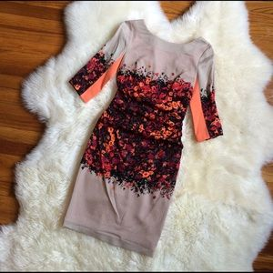 Tracy Reese Dresses & Skirts - 🎉HOST PICK🎉Tracy Reese orange floral dress