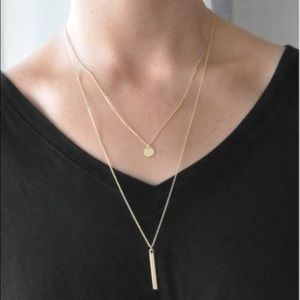 Jewelry - NEW! 14K Gold-Plated layer chain necklace