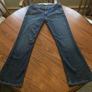 Levi 518 superlow bootcut jeans. Size 15m