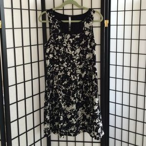 Kensie Fit and Flare Floral Dress