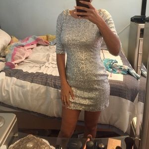 Crystal Doll Dresses & Skirts - Silver dress