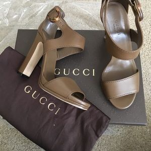 Gucci Shoes - Gucci Open Toe Heels Sandal