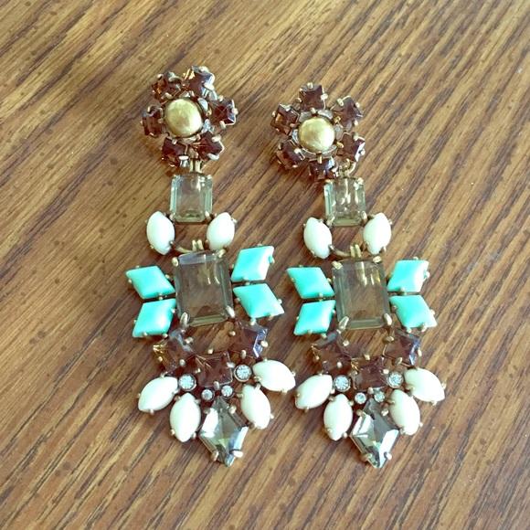 47% off Stella & Dot Jewelry - Melanie chandelier earrings from ...