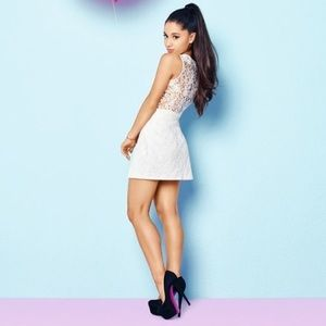 348052f4796 Lipsy Tops | Ariana Grande For Lace Back Crop Top | Poshmark