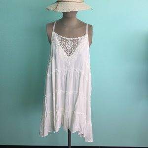 "Dresses & Skirts - "" Two Left""Boutique  Beautiful White Lace Dress."