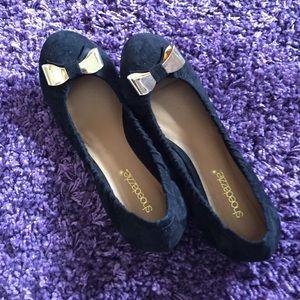Shoedazzle Shoes - Shoe dazzle suede black shoes