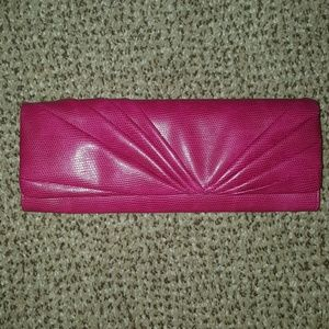 Pink Convertible Clutch