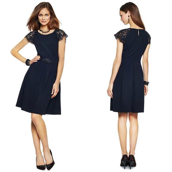 C Wonder Dresses Last Chance Black Lace Cap Sleeve Dress Poshmark
