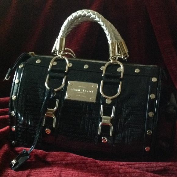 411bd64cad9 GIANNI VERSACE Bags   Gianni Versace Couture Greca Handel Bag   Poshmark