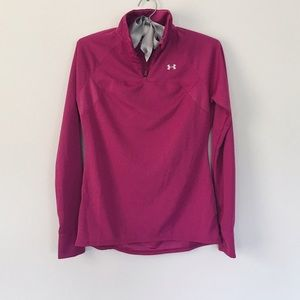 UNDER ARMOUR // Athletic Zip Pullover