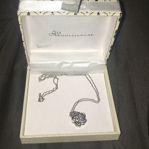 Illuminaire Jewelry - Illuminaire Rose Pendent