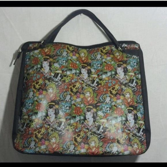 Ed Hardy Bags   Large Travel Bag   Poshmark 260b3cffc4