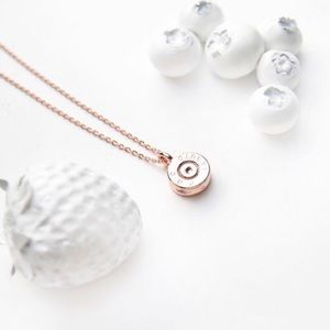 Half United Jewelry - 5⭐️ Rose Gold Tiny Top Bullet Necklace