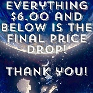 Other - EVERYTHING PRICED AT $6 - FINAL PRICE DROP