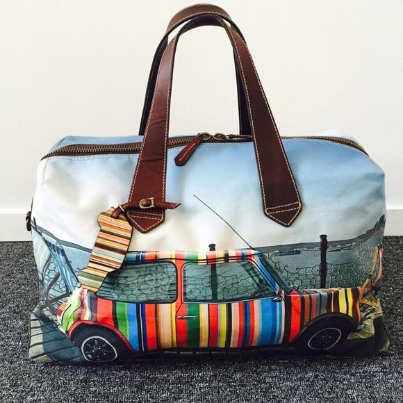 Mini Cooper Gucci >> Paul Smith Bags | Mini Cooper Holdall | Poshmark