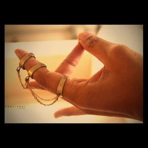 Haati Chai 3 Link Ankta Ring