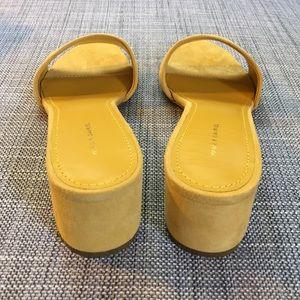 c82e812b303 Mansur Gavriel Shoes - Brand new Mansur Gavriel suede sandals size 38