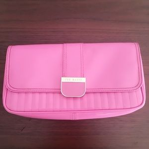 Ted Baker Bubblegum Pink Patent Clutch