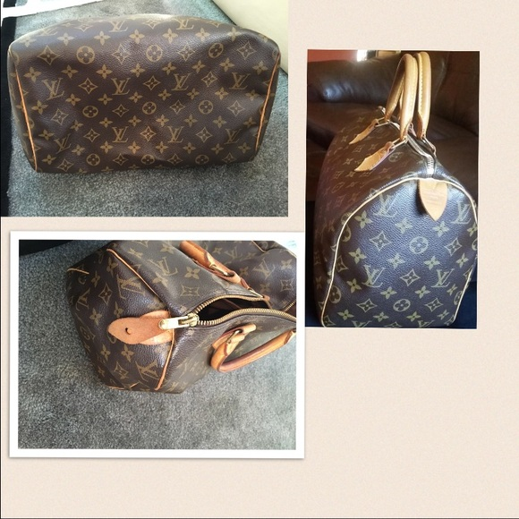 Images For Louis Vuitton Made In France >> Louis Vuitton Speedy 30 Made In Usa Code Sd0046