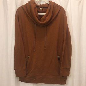 Lands' End Canvas Sweatshirt Tunic (Size M)