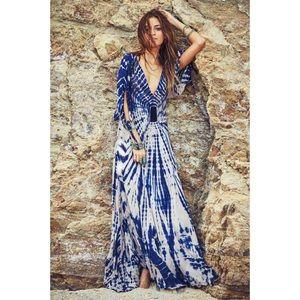 Bohemian maxi dress 007