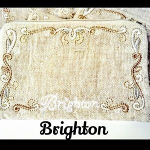 Brighton Cosmetic / Travel / Phone Pouch  Bag NWOT