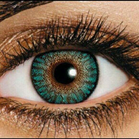 freshlook makeup flash sale turquoise color contacts exp 1219