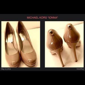 1e63e4fd233f Michael Kors Shoes - NEW MICHAEL KORS 9.5 IONNA NUDE PUMPS