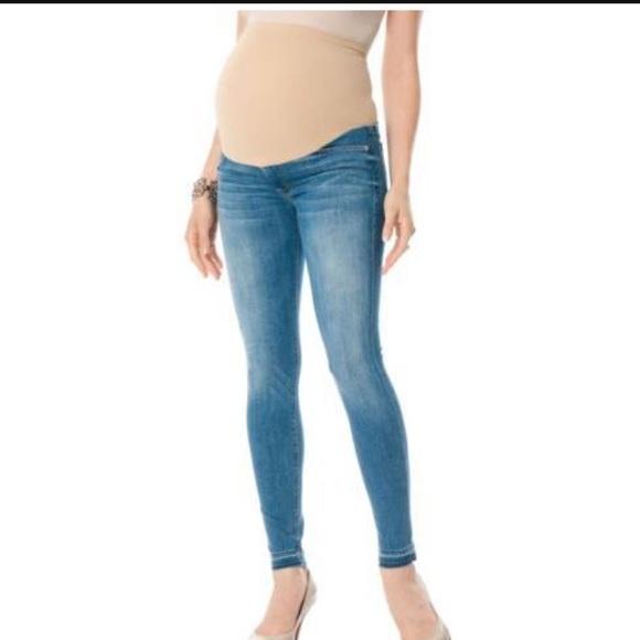 40% off Hudson Jeans Denim - Hudson Maternity Super Skinny Jeans ...