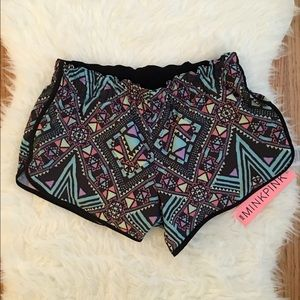 MINKPINK Move It Aztec Workout Shorts