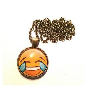 Jewelry - 😂😂 Emoji Necklace 😂😂