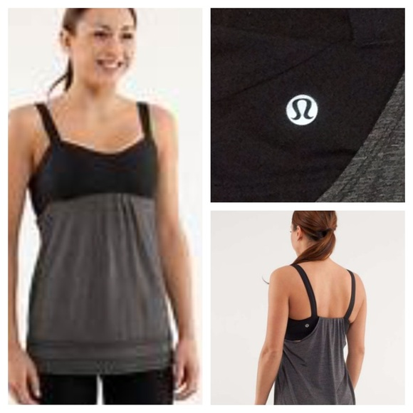 a6afd00a5d908 lululemon athletica Tops - Lululemon Run Back on Track tank