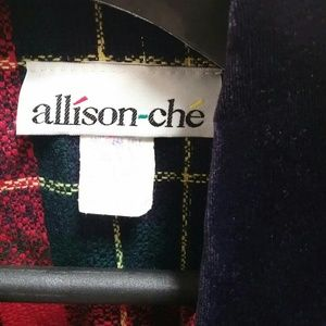 allison-che Jackets & Coats - Beautiful mint condition allison-che plaid  jacket