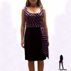 Milly Dresses & Skirts - Milly Purple and Navy Dress 6