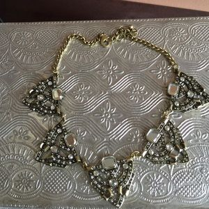 Art Deco style Statement necklace