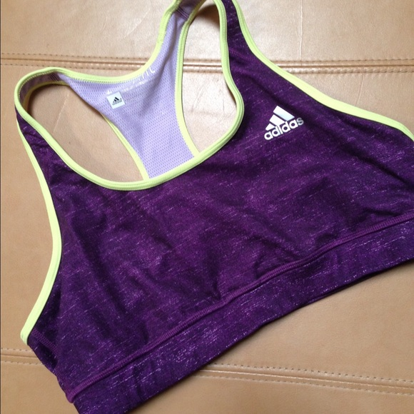 3a7fd6e364235 adidas Other - Adidas TechFit Climacool purple sport bra NWOT
