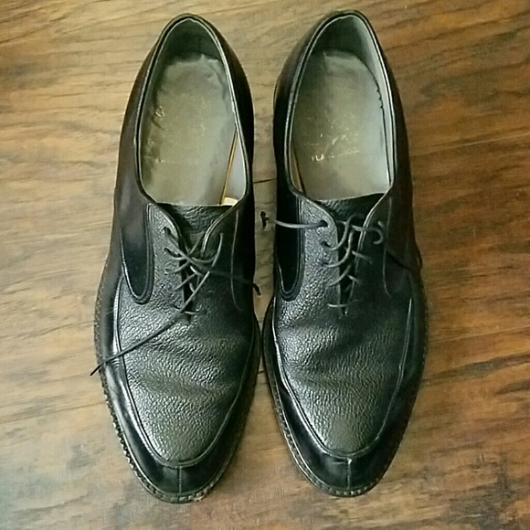 075d921f347 Flagg Bros. Other - VINTAGE Flagg Bros. Black Leather Men s Shoes