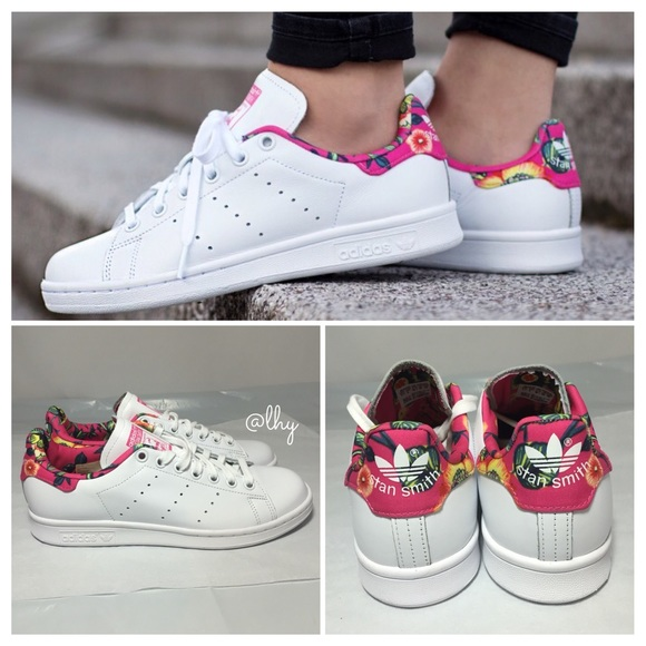 e85de925092b Adidas Shoes - 🆕ADIDAS ORIGINALS STAN SMITH FLORAL SNEAKERS –7.5