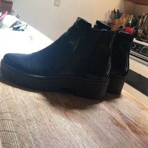 Zara Creeper Boots