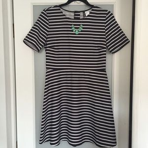 H&M Dresses & Skirts - Striped Fit-and-Flare Dress