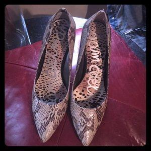 Sam Edleman Snakeskin heels